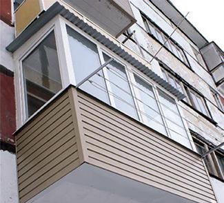 Остекление балкона с установкой